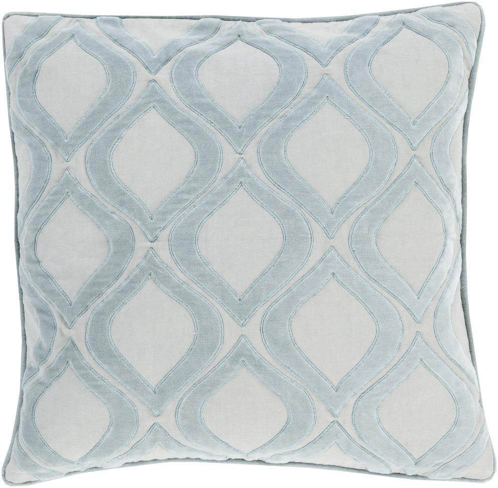 """Surya Rugs Pillows 22"""" x 22"""" Decorative Pillow - Item Number: AX006-2222P"""