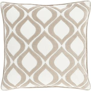 "Surya Pillows 18"" x 18"" Decorative Pillow"