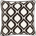 "Surya Pillows 18"" x 18"" Decorative Pillow - Item Number: AX008-1818P"