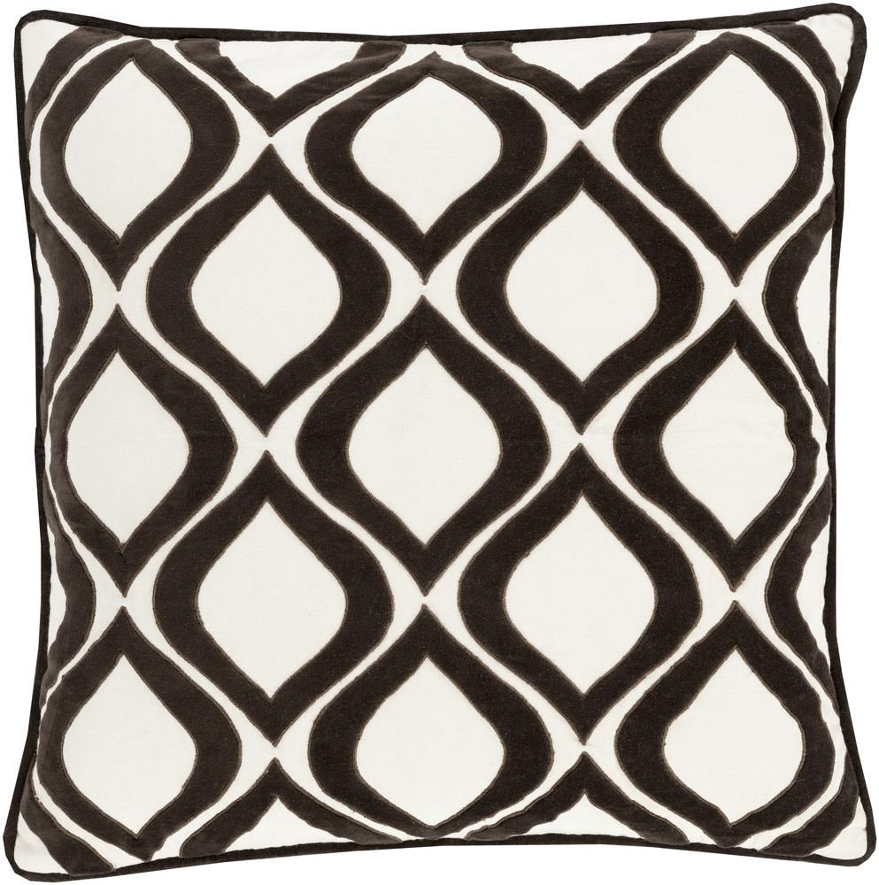 "Surya Rugs Pillows 22"" x 22"" Decorative Pillow - Item Number: AX008-2222P"
