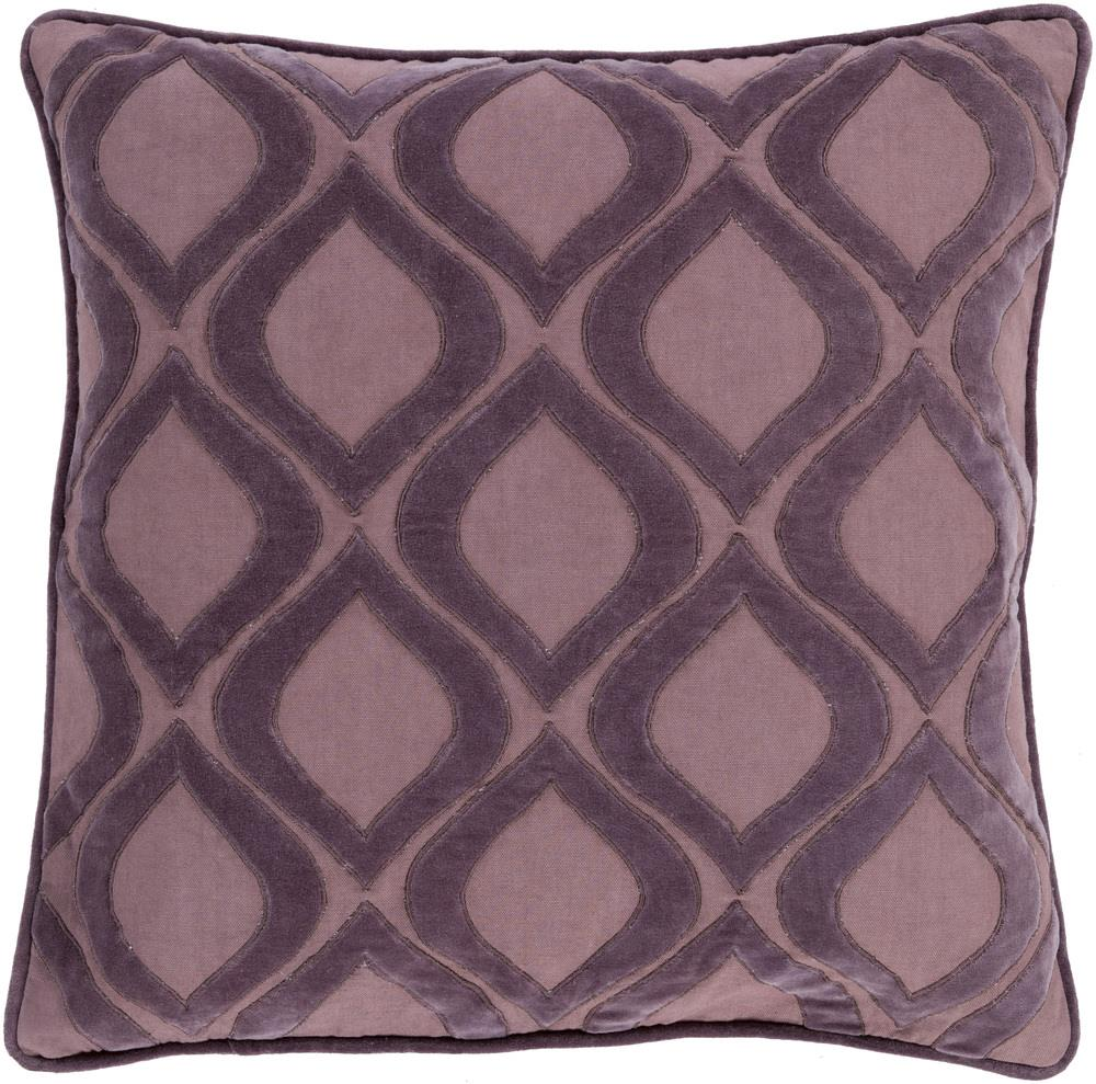 "Surya Rugs Pillows 20"" x 20"" Decorative Pillow - Item Number: AX009-2020P"