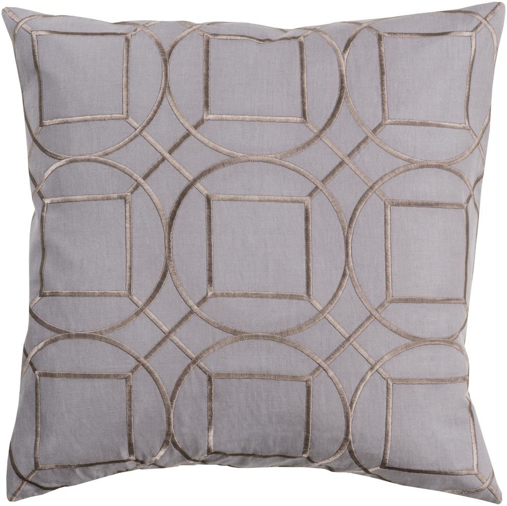 "Surya Pillows 18"" x 18"" Pillow - Item Number: BA009-1818P"