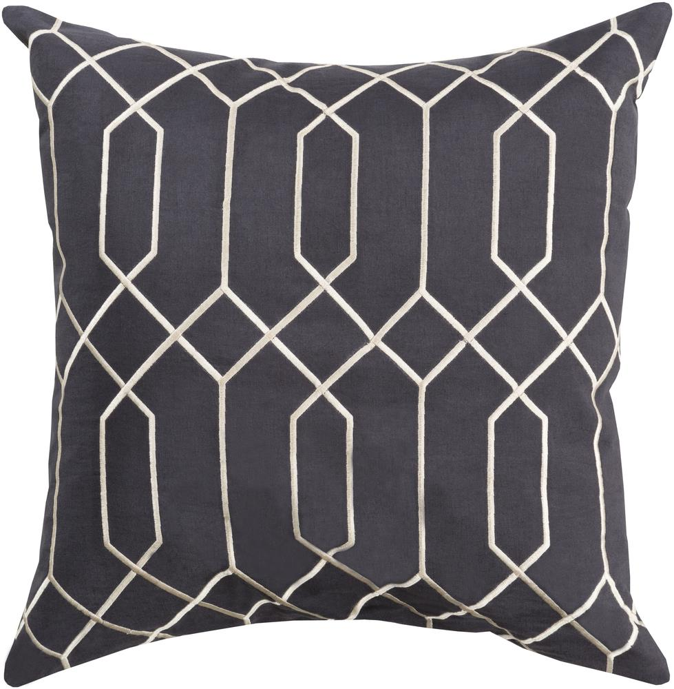"Surya Pillows 18"" x 18"" Pillow - Item Number: BA035-1818P"