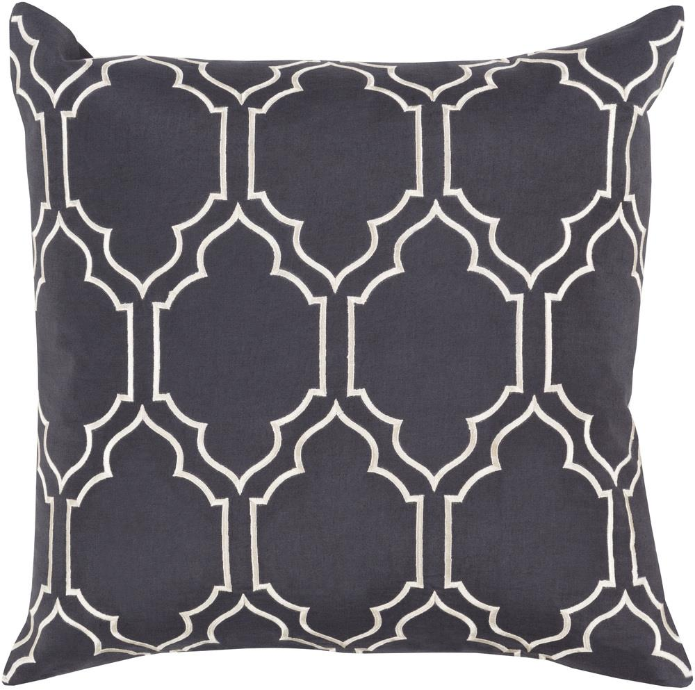 "Surya Pillows 18"" x 18"" Pillow - Item Number: BA045-1818P"