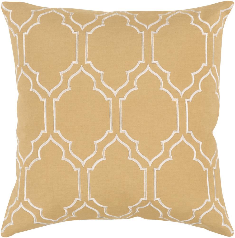 """Surya Pillows 18"""" x 18"""" Pillow - Item Number: BA050-1818P"""