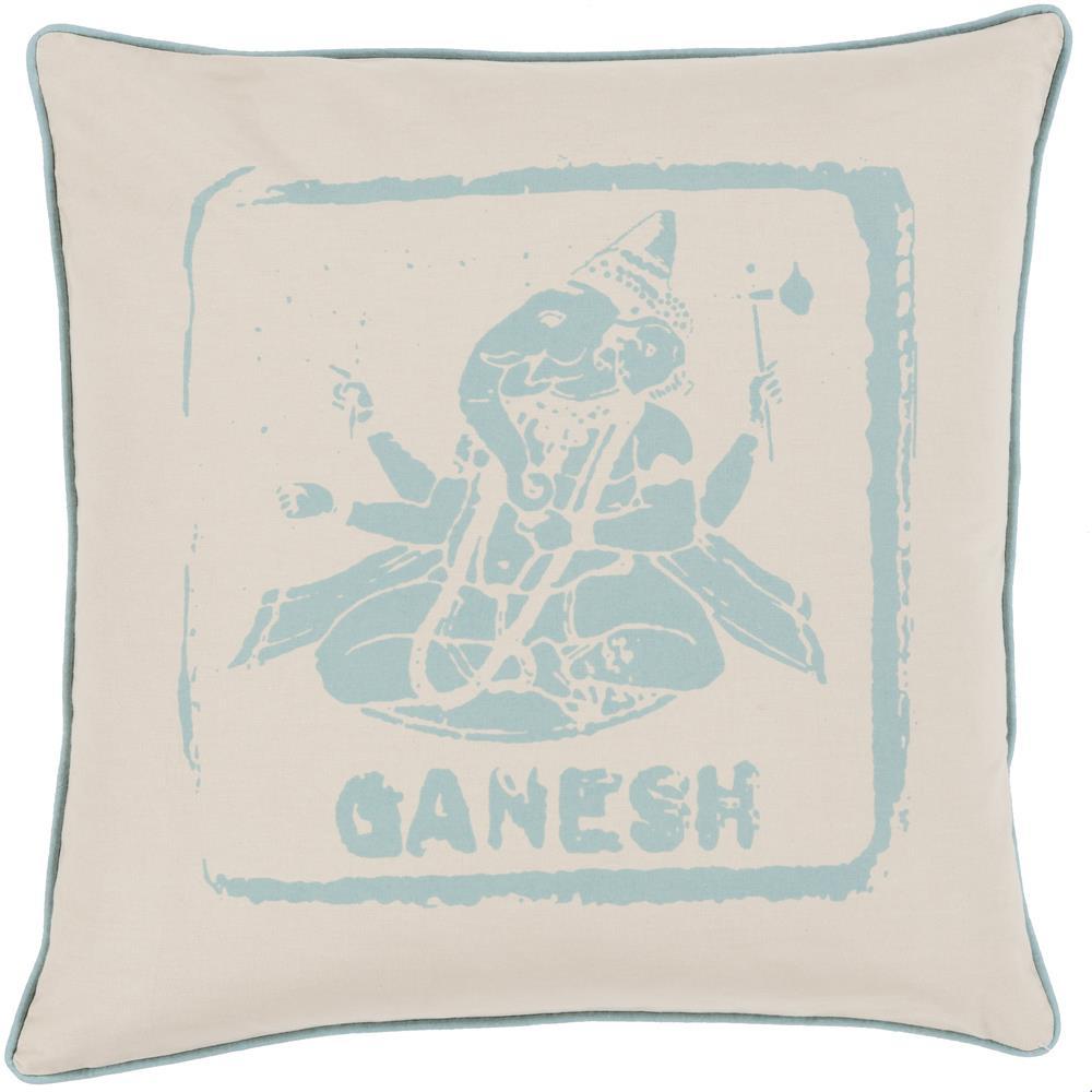 "Surya Rugs Pillows 20"" x 20"" Big Kid Blocks Pillow - Item Number: BKB001-2020P"