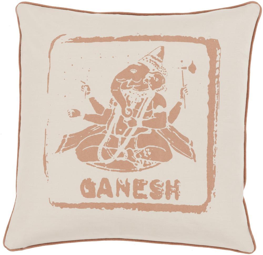 "Surya Rugs Pillows 18"" x 18"" Big Kid Blocks Pillow - Item Number: BKB002-1818P"