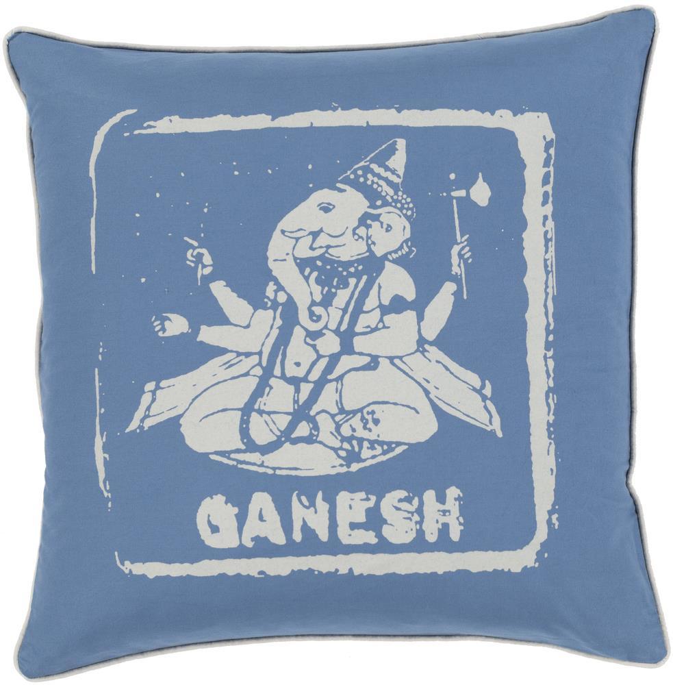"Surya Rugs Pillows 18"" x 18"" Big Kid Blocks Pillow - Item Number: BKB003-1818P"