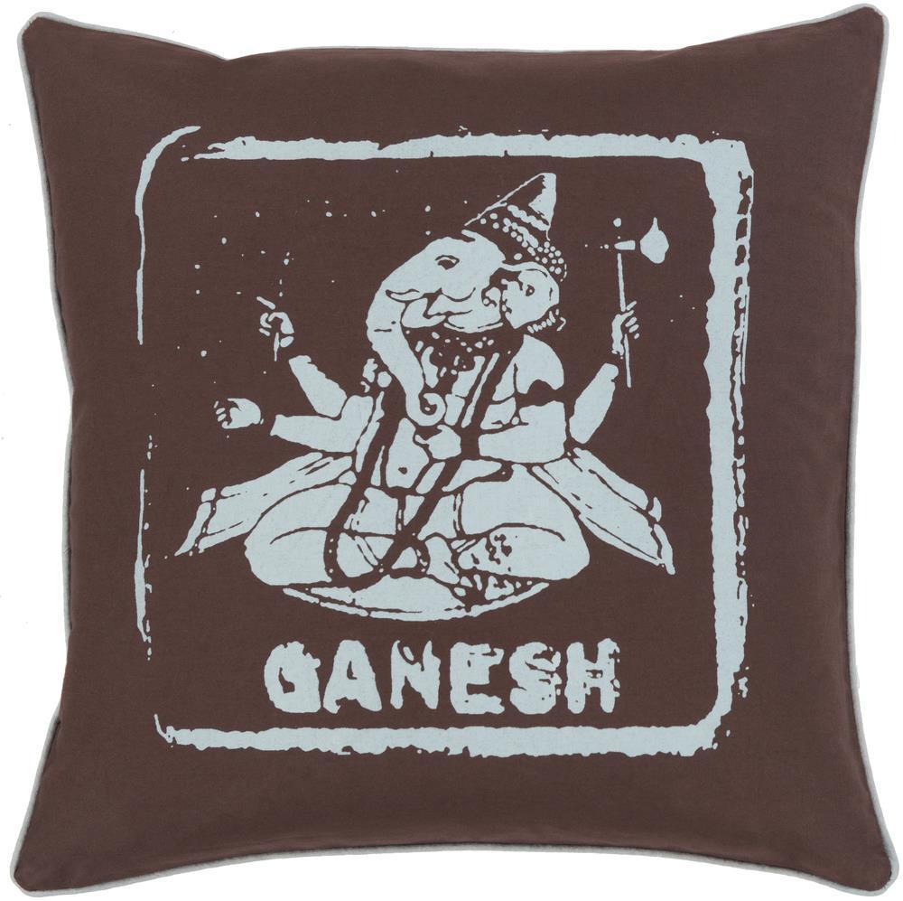 "Surya Rugs Pillows 18"" x 18"" Big Kid Blocks Pillow - Item Number: BKB006-1818P"