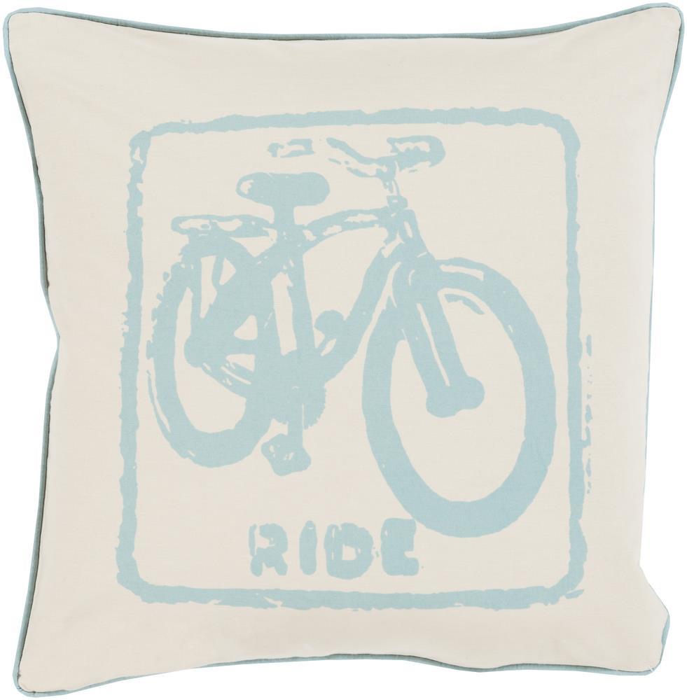 "Surya Rugs Pillows 18"" x 18"" Big Kid Blocks Pillow - Item Number: BKB015-1818P"