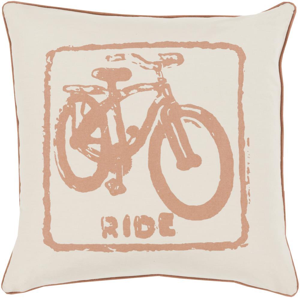 "Surya Rugs Pillows 20"" x 20"" Big Kid Blocks Pillow - Item Number: BKB016-2020P"