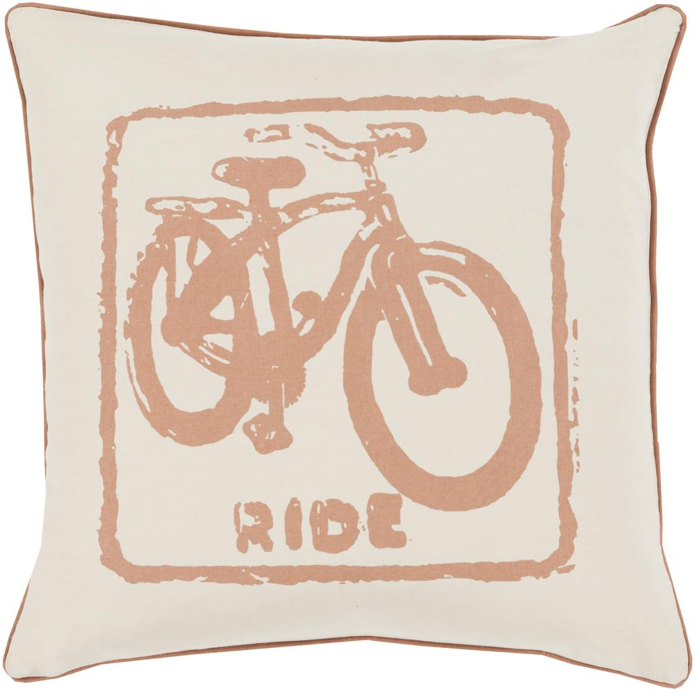 "Surya Rugs Pillows 22"" x 22"" Big Kid Blocks Pillow - Item Number: BKB016-2222P"