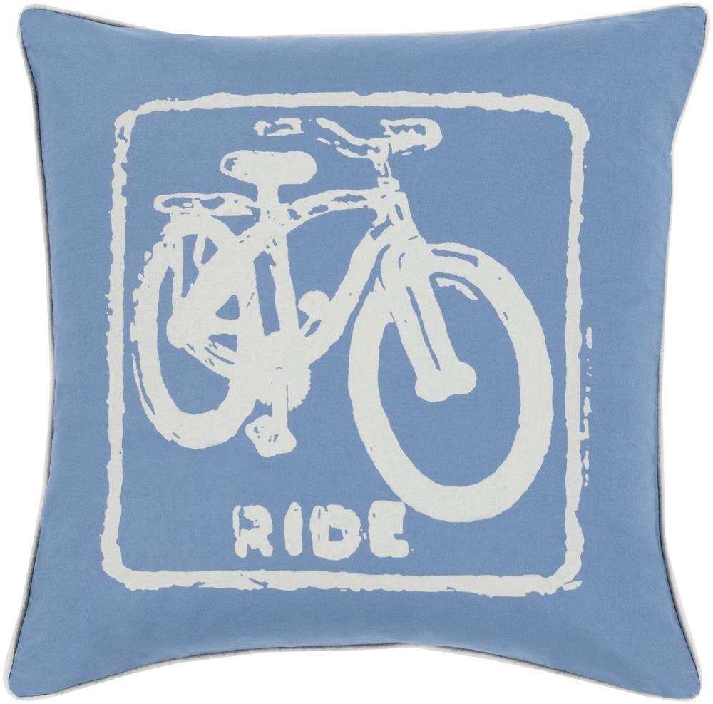 "Surya Rugs Pillows 22"" x 22"" Big Kid Blocks Pillow - Item Number: BKB017-2222P"