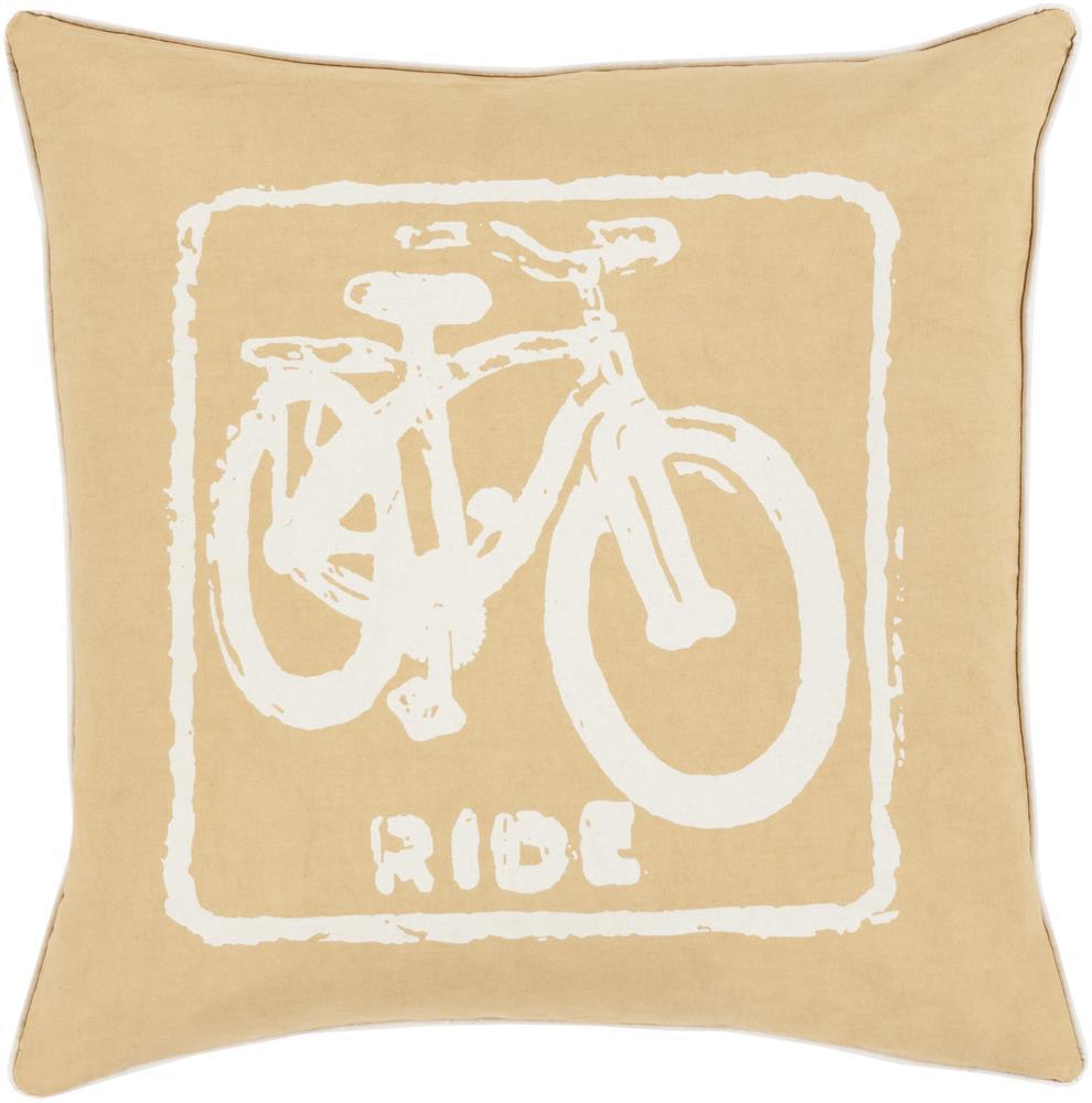 "Surya Rugs Pillows 22"" x 22"" Big Kid Blocks Pillow - Item Number: BKB018-2222P"
