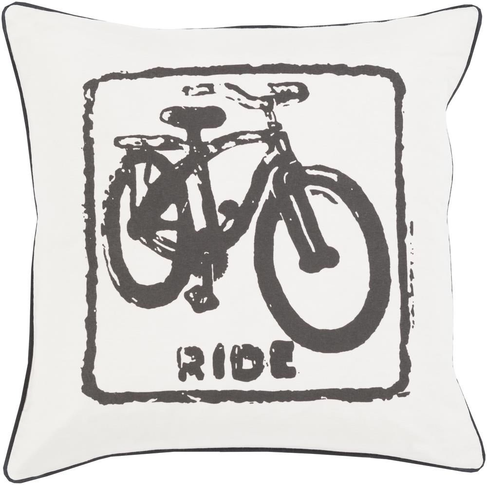 "Surya Pillows 22"" x 22"" Big Kid Blocks Pillow - Item Number: BKB019-2222P"