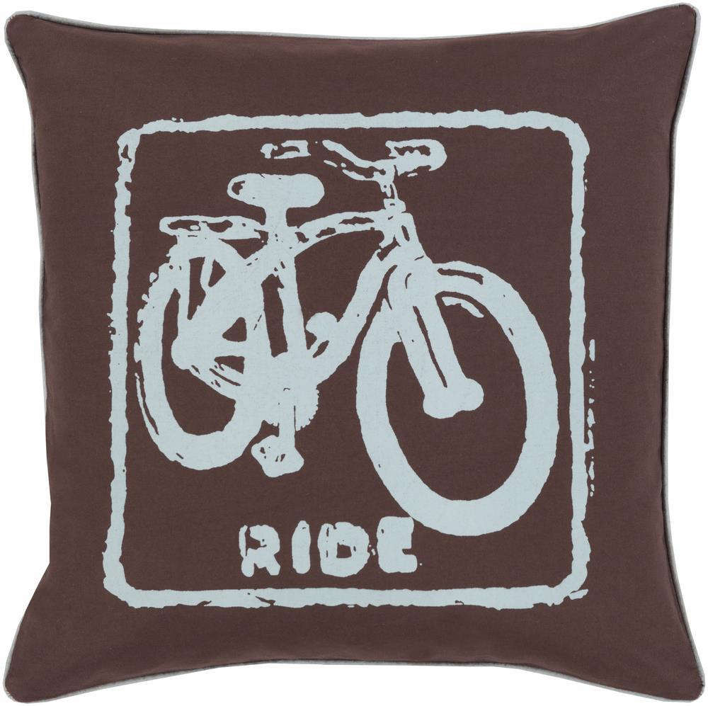 "Surya Rugs Pillows 18"" x 18"" Big Kid Blocks Pillow - Item Number: BKB020-1818P"