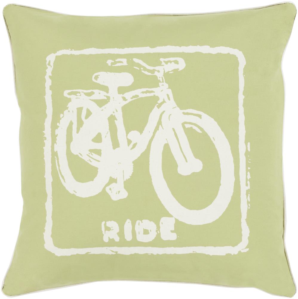 "Surya Rugs Pillows 18"" x 18"" Big Kid Blocks Pillow - Item Number: BKB021-1818P"