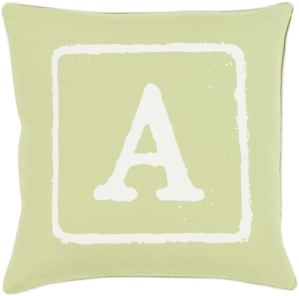 "Surya Rugs Pillows 18"" x 18"" Big Kid Blocks Pillow - Item Number: BKB028-1818P"