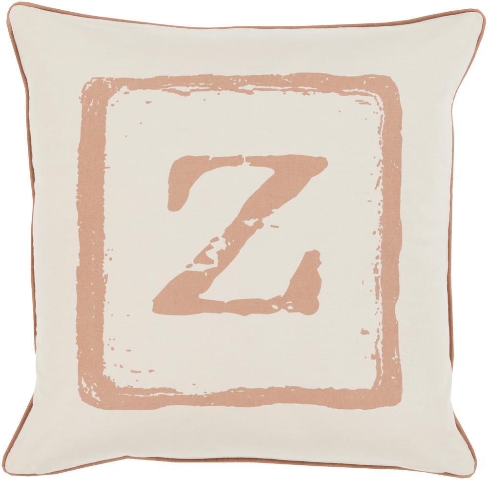 "Surya Rugs Pillows 22"" x 22"" Big Kid Blocks Pillow - Item Number: BKB030-2222P"