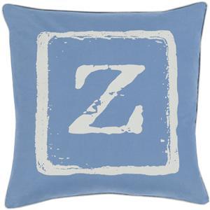 "Surya Rugs Pillows 20"" x 20"" Big Kid Blocks Pillow"