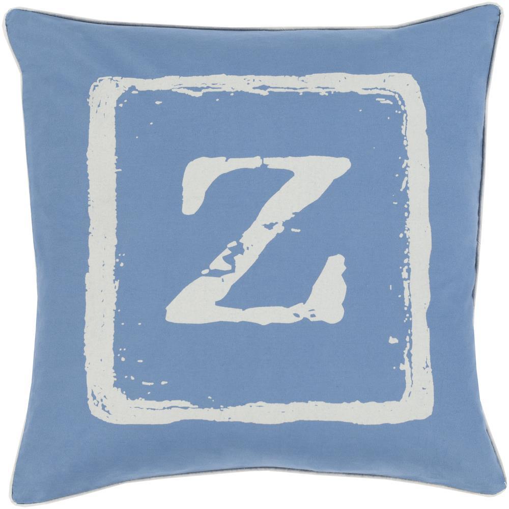 "Surya Rugs Pillows 22"" x 22"" Big Kid Blocks Pillow - Item Number: BKB031-2222P"