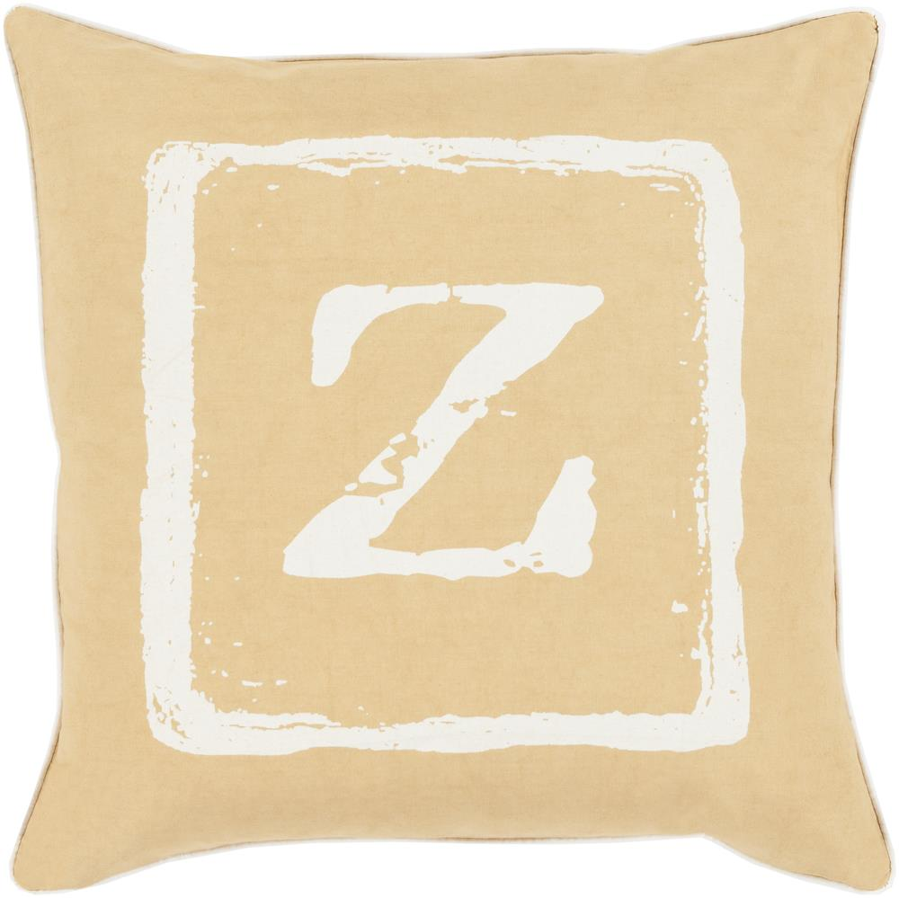 "Surya Rugs Pillows 22"" x 22"" Big Kid Blocks Pillow - Item Number: BKB032-2222P"