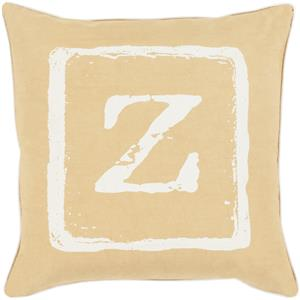 "Surya Rugs Pillows 22"" x 22"" Big Kid Blocks Pillow"