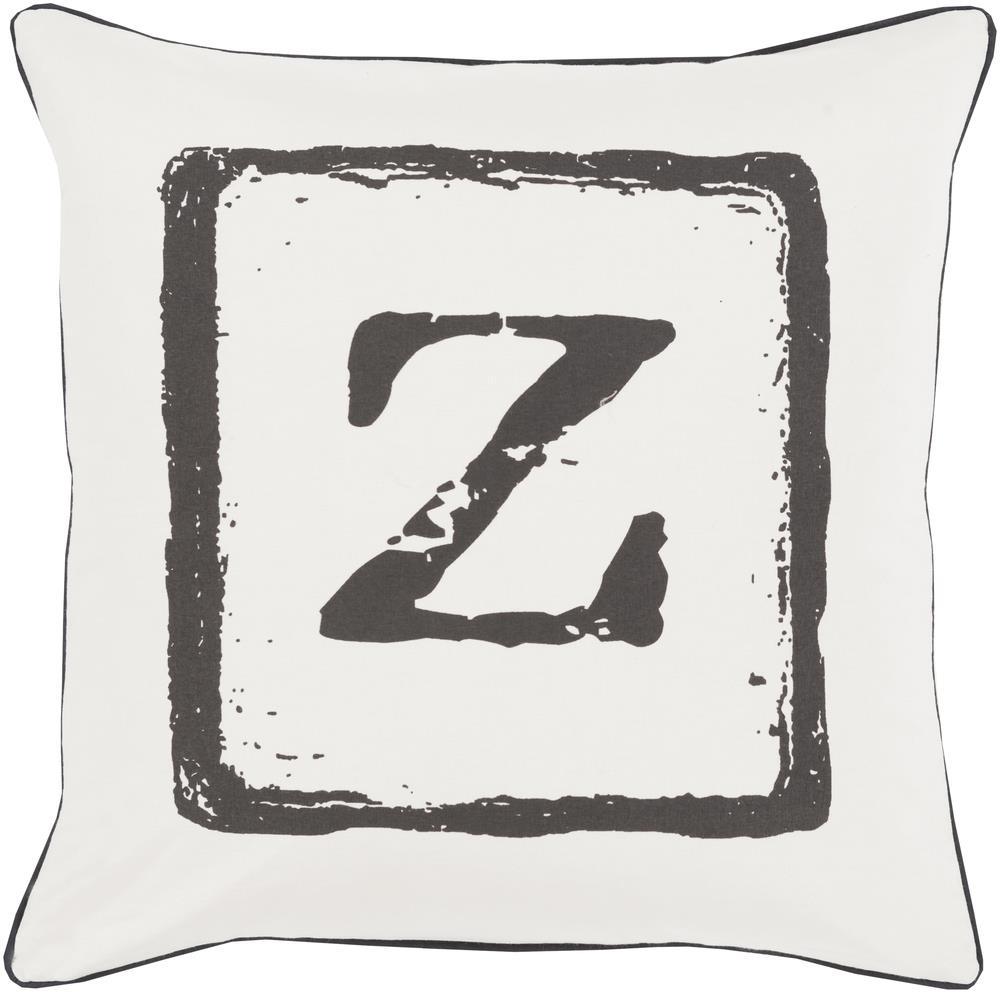 "Surya Rugs Pillows 22"" x 22"" Big Kid Blocks Pillow - Item Number: BKB033-2222P"