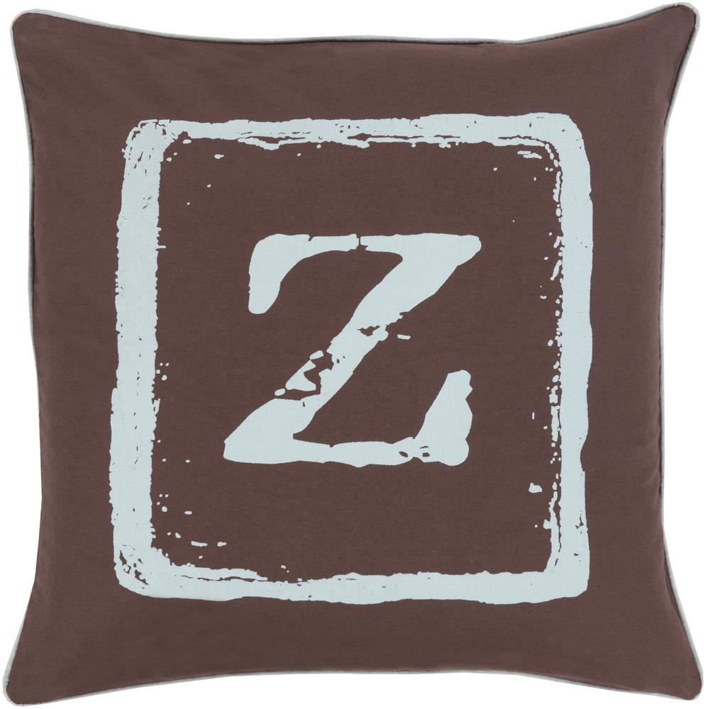 "Surya Rugs Pillows 18"" x 18"" Big Kid Blocks Pillow - Item Number: BKB034-1818P"