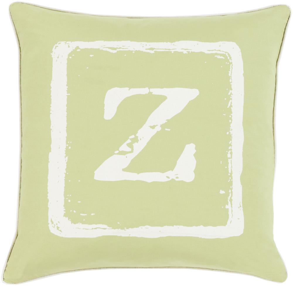 "Surya Rugs Pillows 20"" x 20"" Big Kid Blocks Pillow - Item Number: BKB035-2020P"