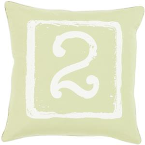 "Surya Rugs Pillows 20"" x 20"" Big Kid Blocks Pillow"
