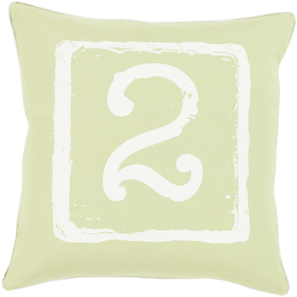 "Surya Rugs Pillows 22"" x 22"" Big Kid Blocks Pillow - Item Number: BKB049-2222P"
