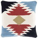 "Surya Pillows 22"" x 22"" Decorative Pillow - Item Number: CK001-2222P"