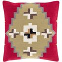 "Surya Rugs Pillows 18"" x 18"" Decorative Pillow - Item Number: CK002-1818P"