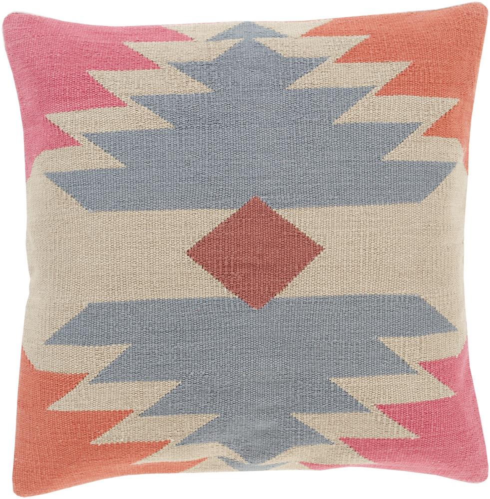 "Surya Pillows 18"" x 18"" Decorative Pillow - Item Number: CK006-1818P"