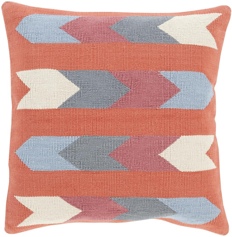 "Surya Pillows 18"" x 18"" Decorative Pillow - Item Number: CK008-1818P"