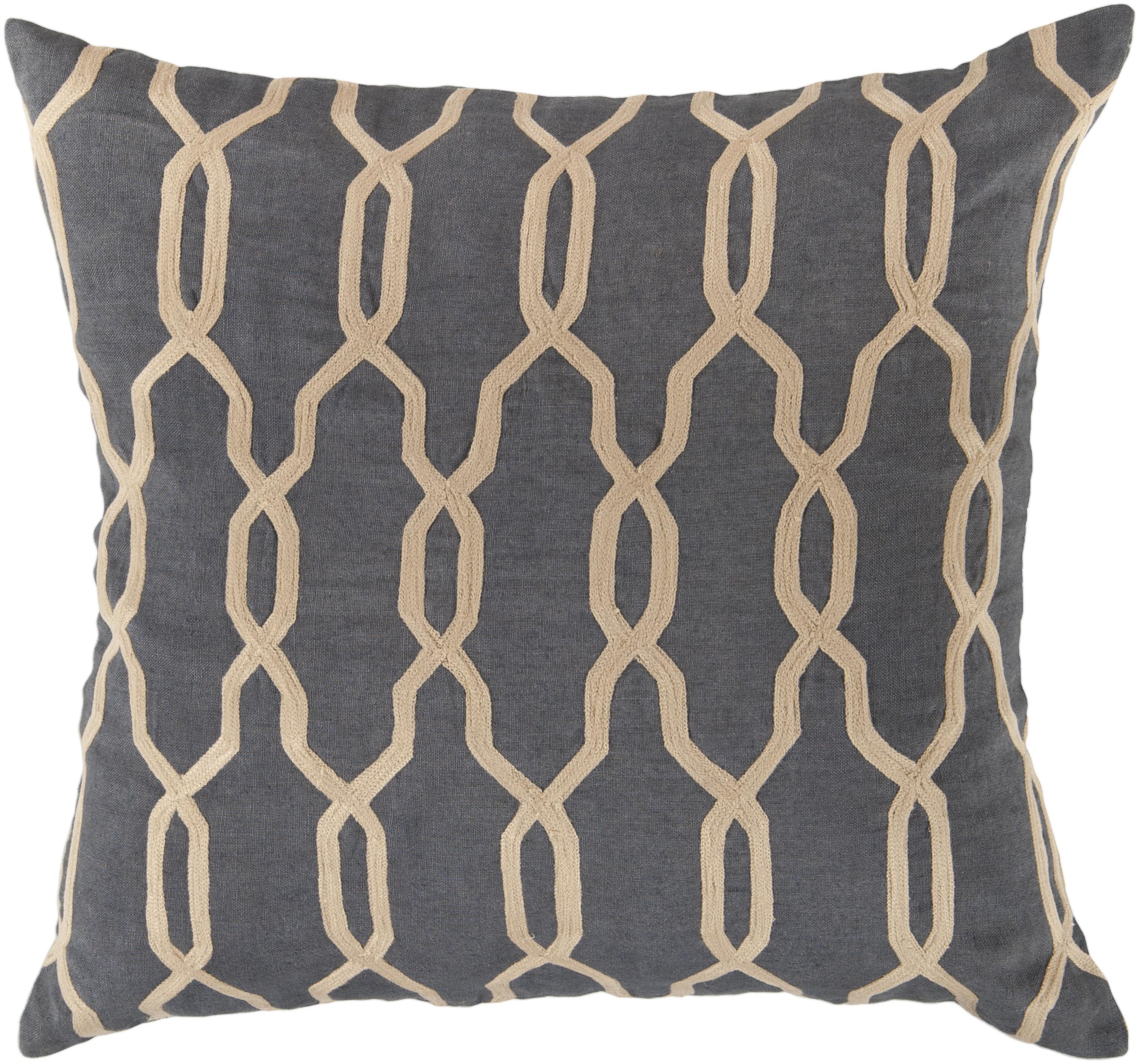 "Surya Pillows 22"" x 22"" Pillow - Item Number: COM001-2222P"