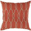 "Surya Rugs Pillows 22"" x 22"" Pillow - Item Number: COM005-2222P"