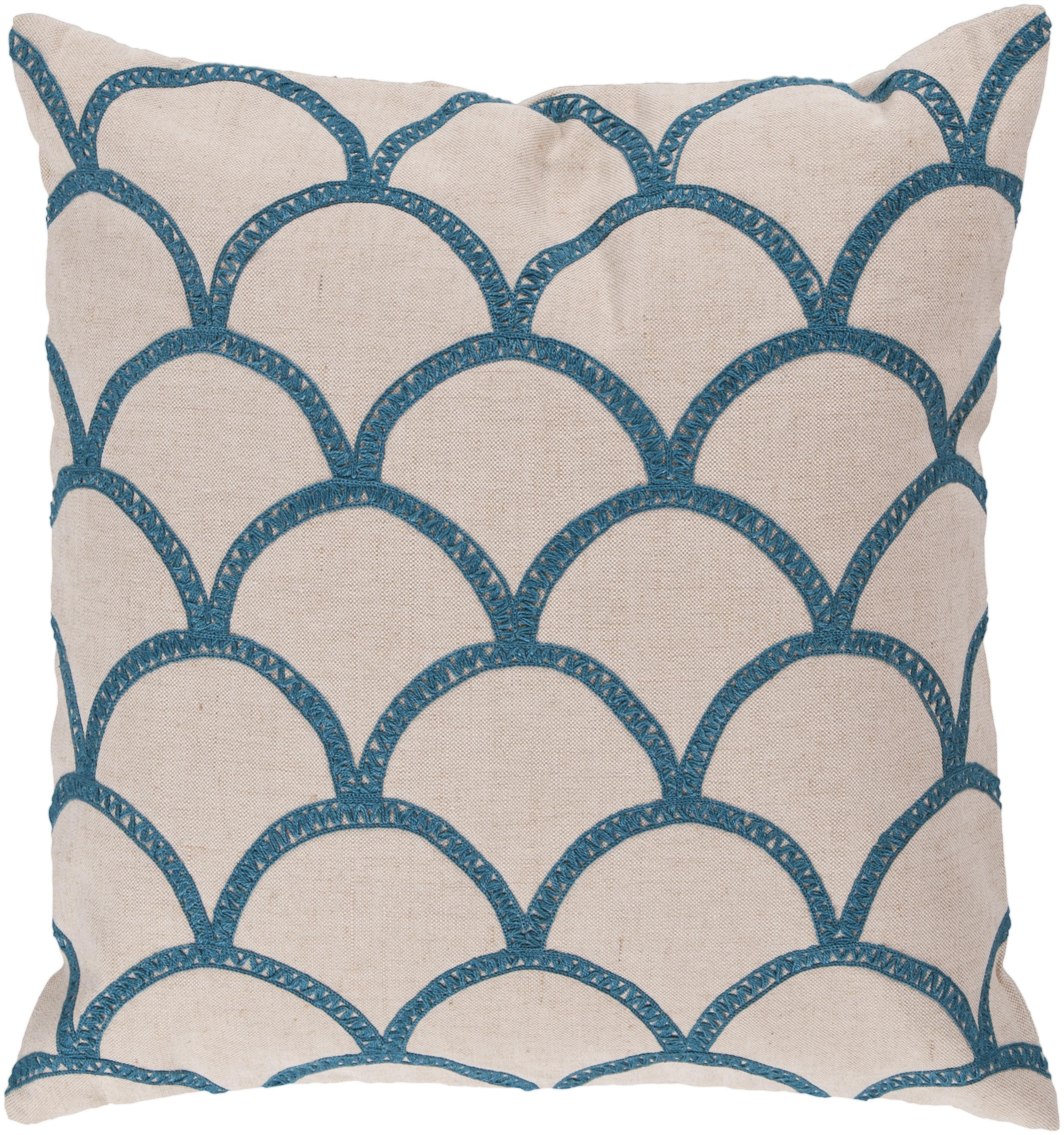 """Surya Rugs Pillows 18"""" x 18"""" Pillow - Item Number: COM007-1818P"""