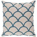 "Surya Pillows 18"" x 18"" Pillow - Item Number: COM007-1818P"