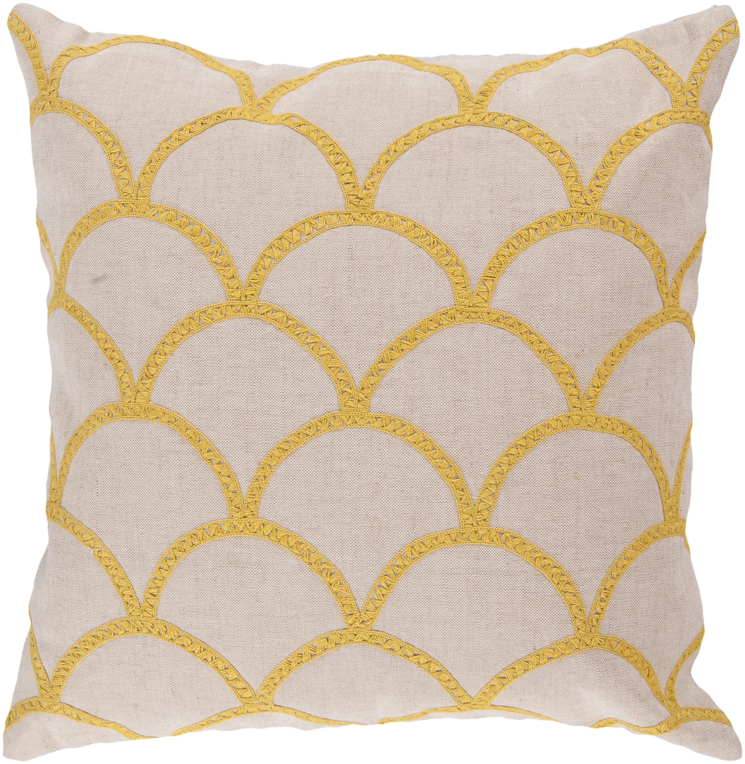 "Surya Pillows 22"" x 22"" Pillow - Item Number: COM010-2222P"