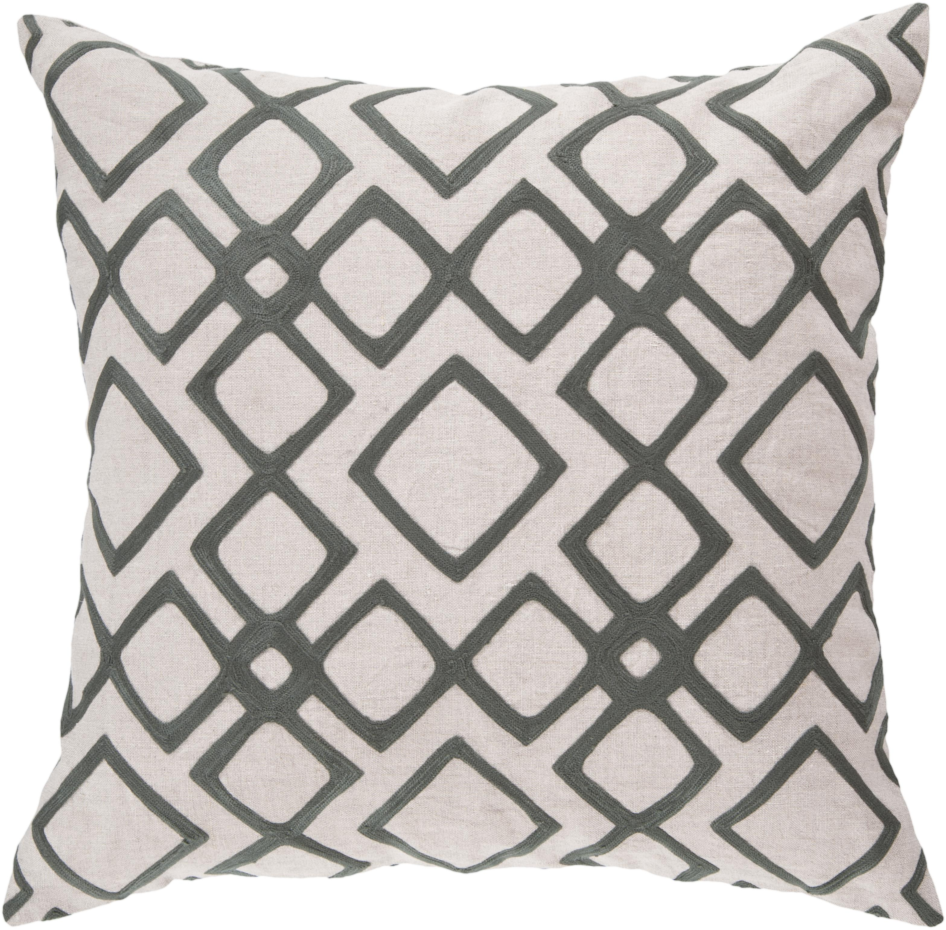 "Surya Rugs Pillows 22"" x 22"" Pillow - Item Number: COM017-2222P"
