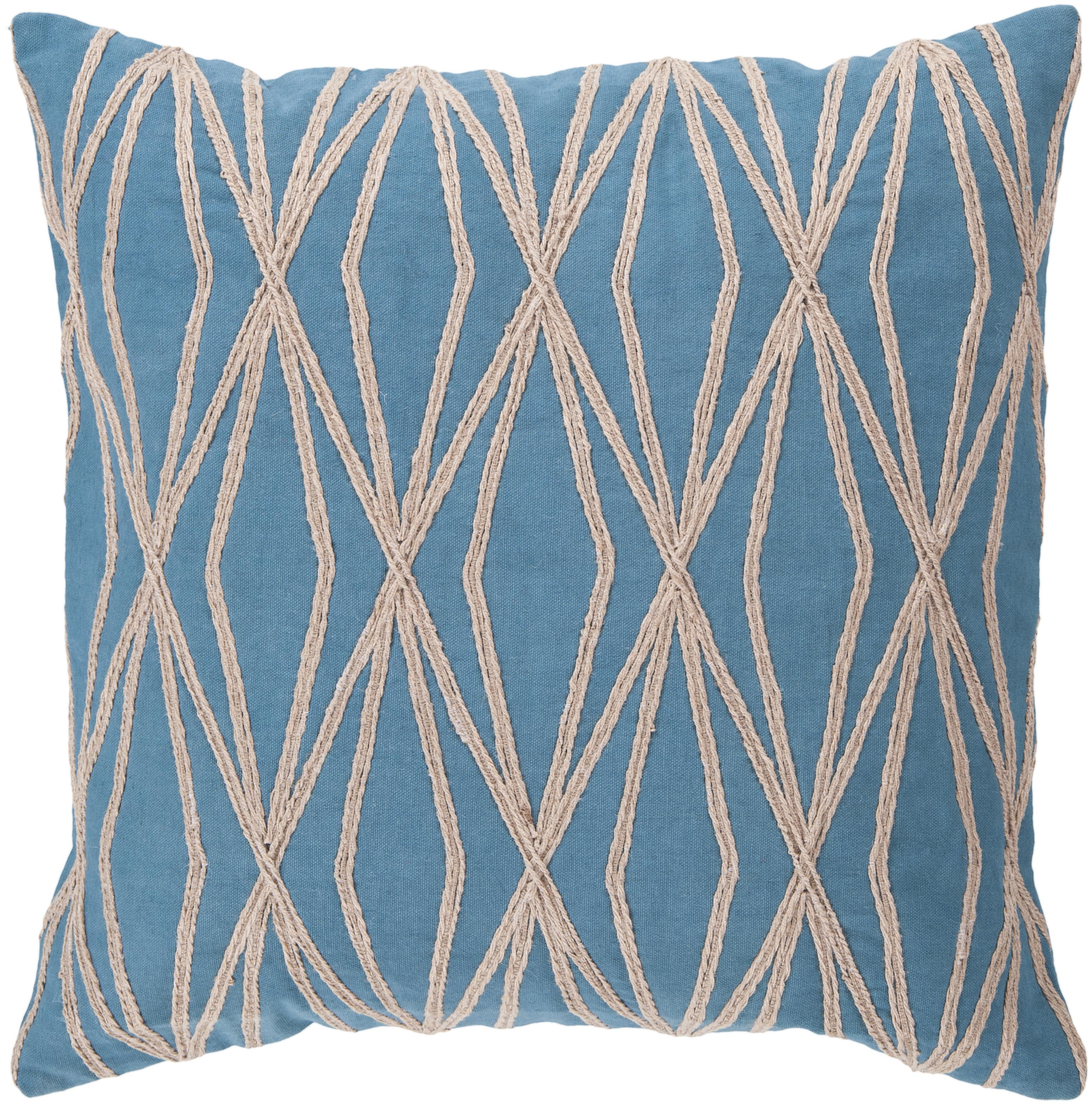 "Surya Rugs Pillows 18"" x 18"" Pillow - Item Number: COM022-1818P"