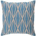 "Surya Rugs Pillows 22"" x 22"" Pillow - Item Number: COM022-2222P"
