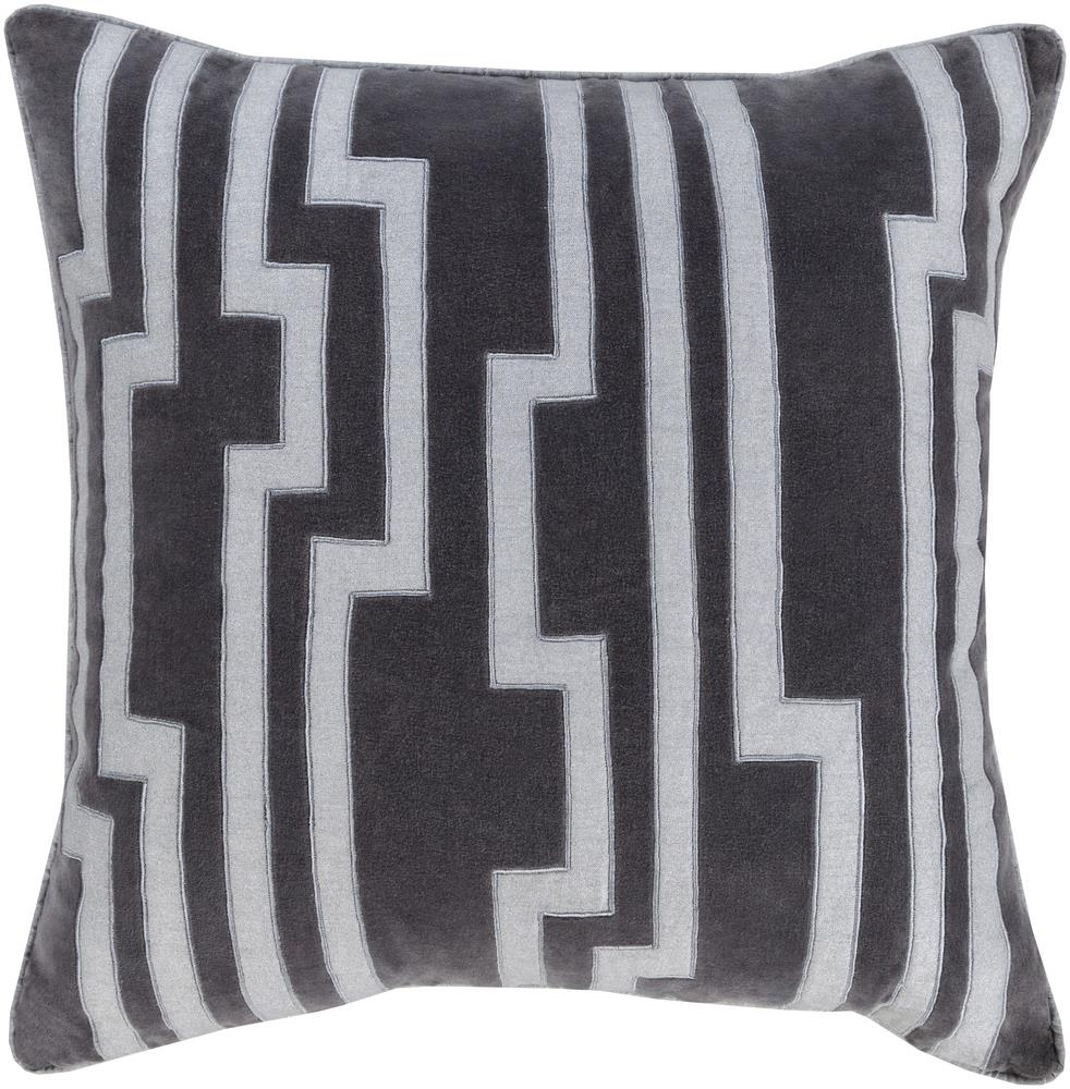 "Surya Pillows 20"" x 20"" Velocity Pillow - Item Number: COV001-2020P"