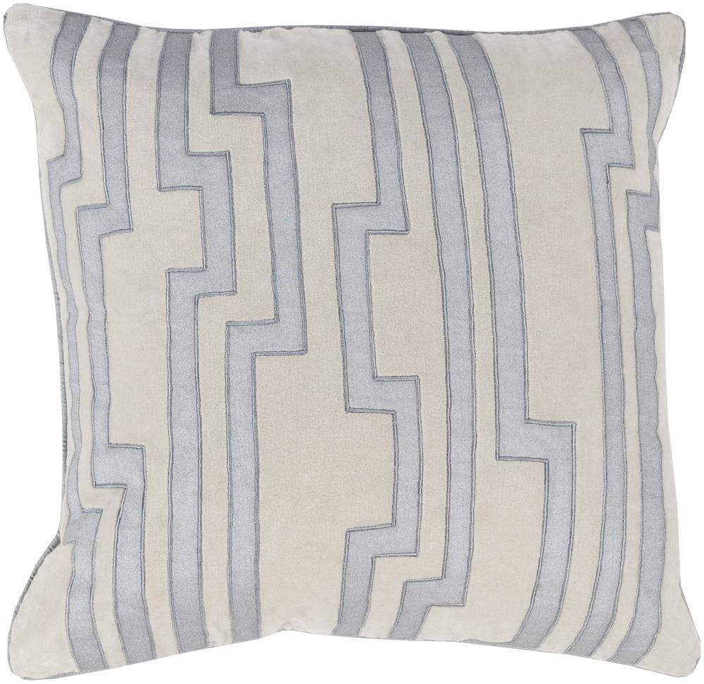 "Surya Pillows 22"" x 22"" Velocity Pillow - Item Number: COV004-2222P"