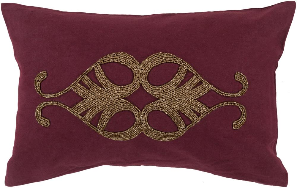 "Surya Pillows 13"" x 20"" Decorative Pillow - Item Number: CR003-1320P"
