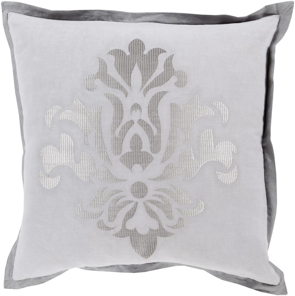 "Surya Rugs Pillows 22"" x 22"" Decorative Pillow - Item Number: CT001-2222P"