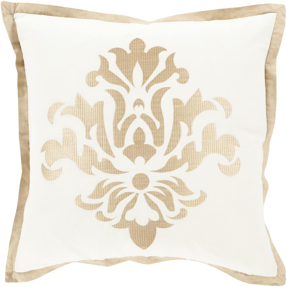 "Surya Rugs Pillows 22"" x 22"" Decorative Pillow - Item Number: CT002-2222P"