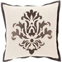 "Surya Pillows 20"" x 20"" Decorative Pillow - Item Number: CT003-2020P"
